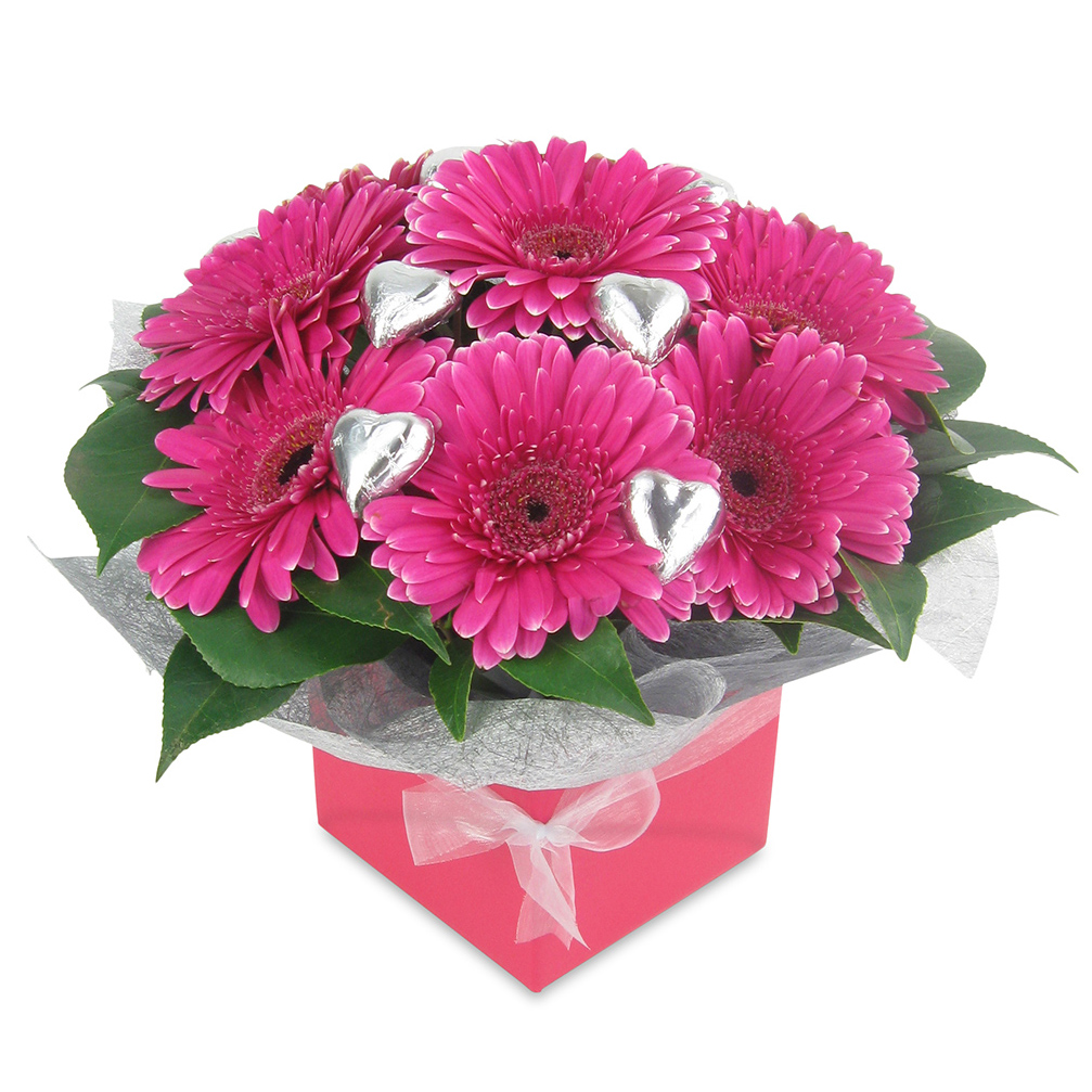Gerberas and Chocolates