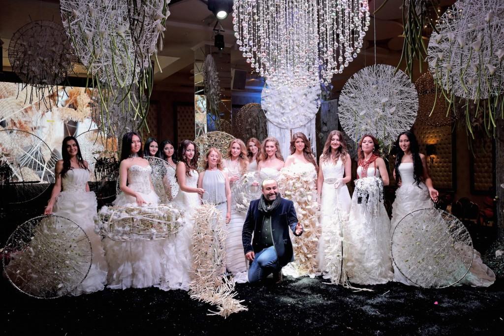 Floral wedding show Bishkek Araik Galstyan