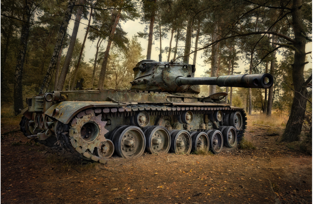 Abandoned Tank 2