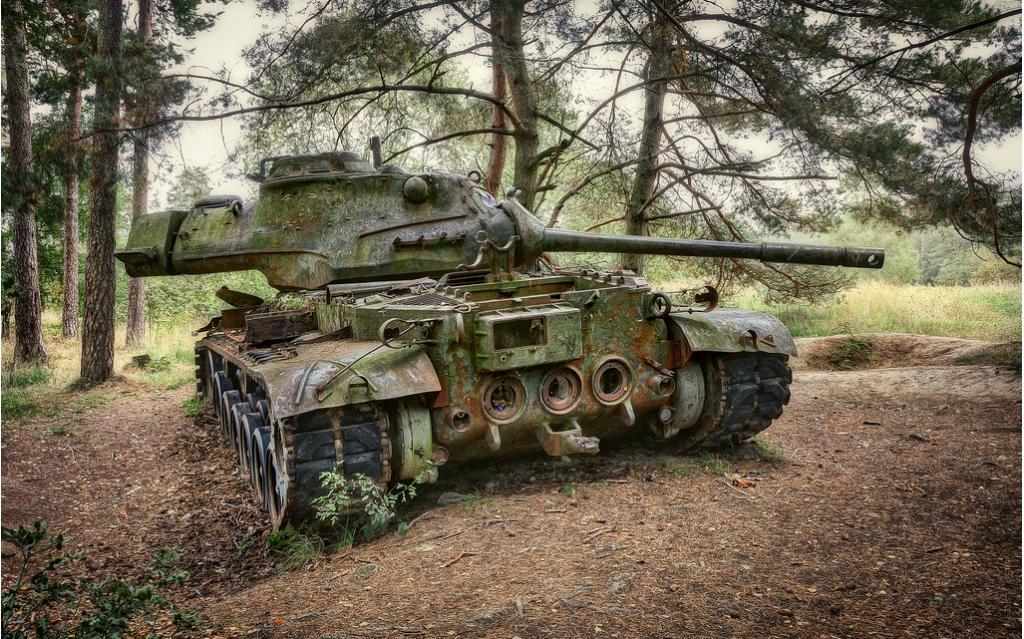 Abandoned Tank 3