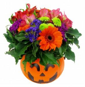 Halloween flowers 1