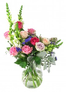 French Rococo Period flower arrangement