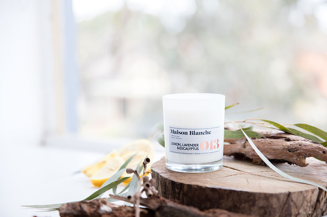 Flowers Across Melbourne Maison Blanche Candles