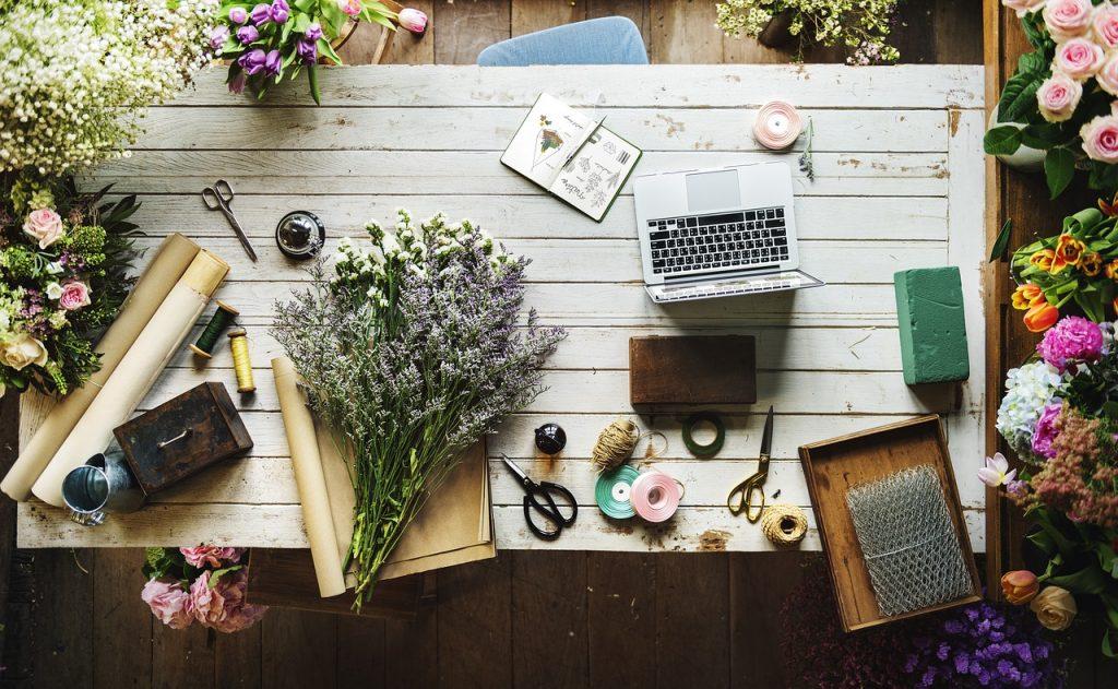 Florist desk