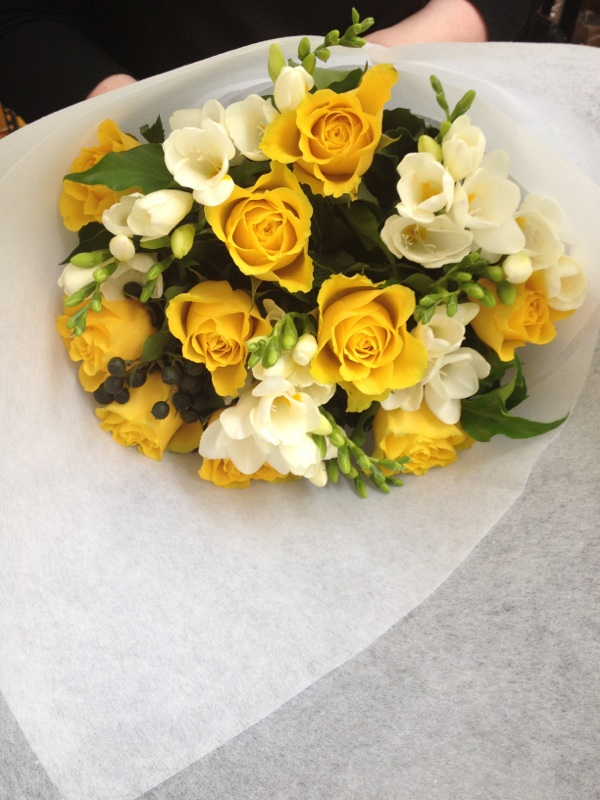 Givr Roses Freesias Bouquet