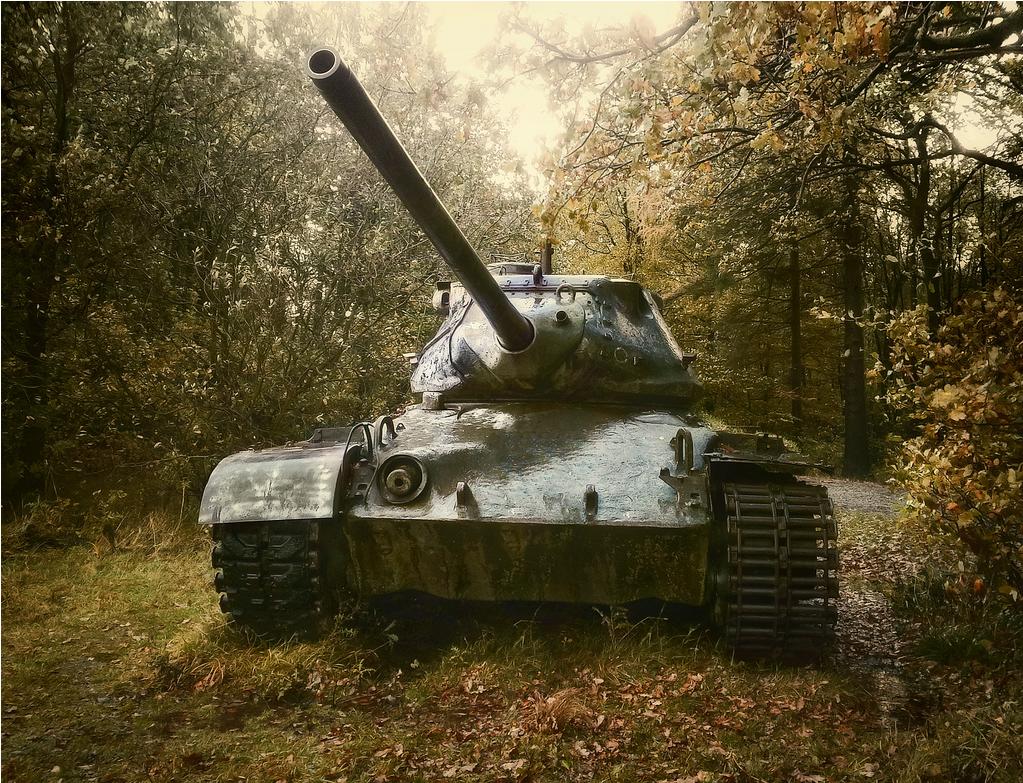 Abandonded Tank 4