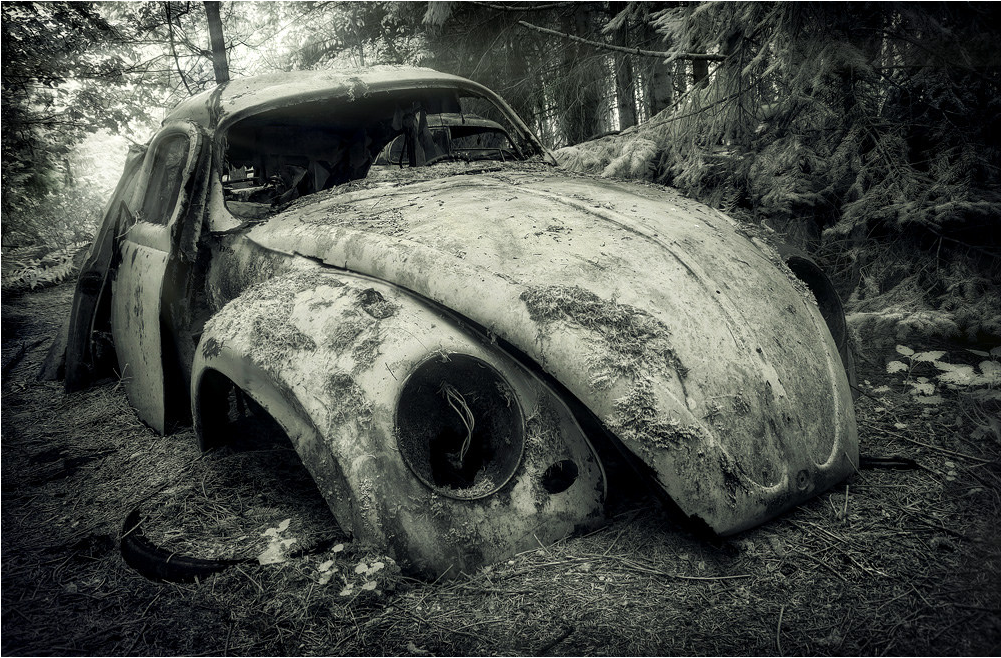 Old VW Beetle