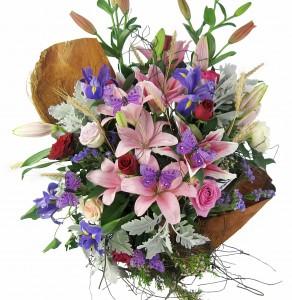 Baroque and Flemish Period flower arrangement