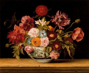 French Baroque flowers