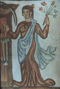Perso-Roman floor mosaic