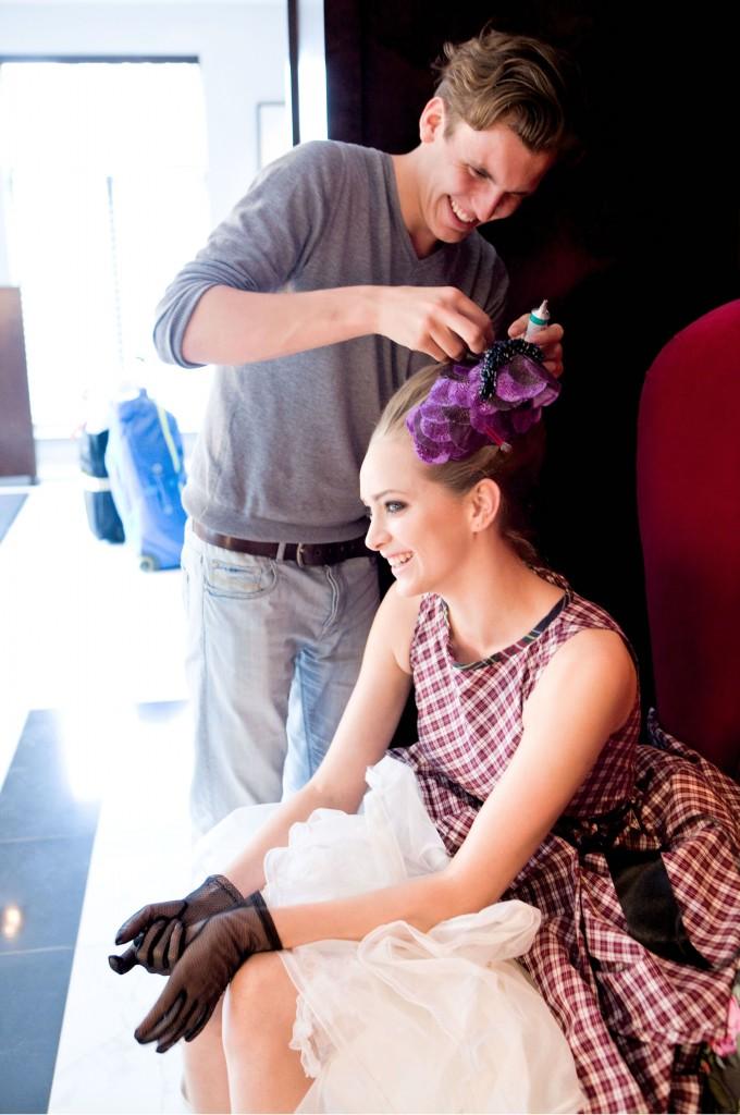 DK Dennis Kneepkens floral hairpieces 1.1