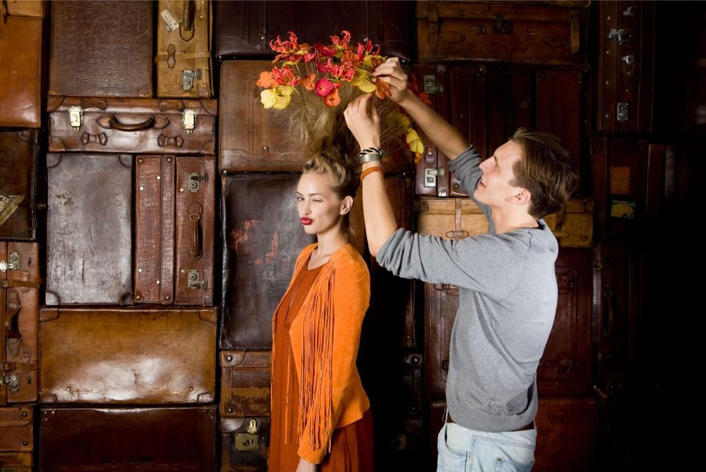 Floral Hairpiece DK- Dennis Kneepkens