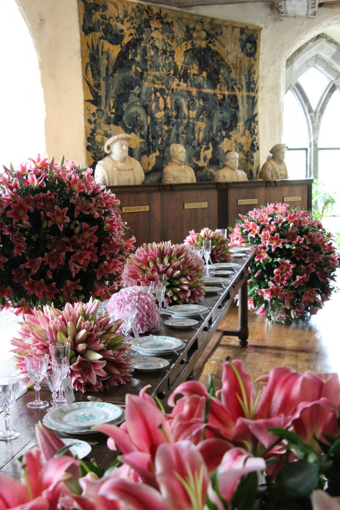 DK Dennis Kneepkens floral installation Leeds Castle 2