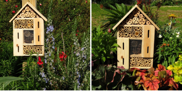 Insect Hotel, Bee Hotel, Wild Bee, Insect House